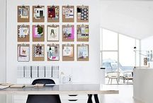 lush work spaces / Stunning ideas to make your workplace pop.