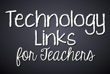 1:1 Technology / Education Technology Links for Teachers: Websites, tips, apps and more. All things laptop and technology related for #schools #teachers with a 1:1 program or anyone wanting to incorporate technology into their classroom. #Education #edtech #ISTE  / by Tracee Orman