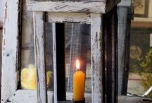Early Lighting & Candles / by Brenda Sheldon