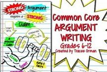 On Writing... / Writing: argument, explanatory, informative, expository, narrative, creative, etc. Everything related to writing in education. Common Core writing: informative, argument, narrative; creative writing, and prose. Main focus is middle school and high school grades. / by Tracee Orman