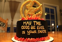Hunger Games, Catching Fire, & Mockingjay CAKES :)