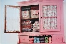 Cupboards, shelfs, Armoires, gotta love them! / by Valeria Loureiro