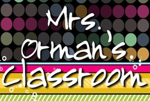 Mrs. Orman's Classroom / Posts from my educational blog: Mrs. Orman's Classroom at www.traceeorman.com #education #teaching / by Tracee Orman