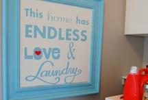 Home - Laundry Room- Organization Shorgization / by CrAfTy ChRiStI