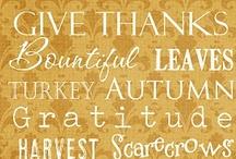 Holiday - Gobble Gobble- Turkey Day! / by CrAfTy ChRiStI