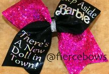ClaireBear's Pinboard - Cheer & Hairbows / by CrAfTy ChRiStI