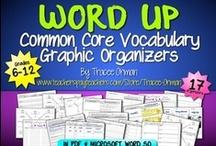 Vocabulary & Common Core Language Strand / Vocabulary - Common Core State Standards Language Skills / by Tracee Orman