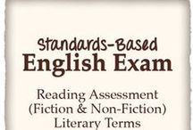 Tests & Assessments / Tests and assessments for English/language arts. Common Core State Standards aligned. / by Tracee Orman