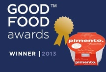 Good Food Winner! Recipes with Pimento Chevre / How to use our oh-so-yummy pimento chevre, awarded Gold at the 2013 Good Food Awards! http://www.bellechevre.com/shop/pimento-chevre-spread-p-7.html
