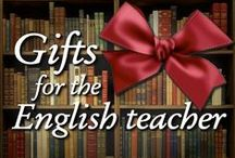 Gifts for the English Teacher / Gifts (holidays, Christmas, birthday, end of the school year, anytime) for the book lover, book nerd, English teacher, grammar Nazi, and intellectual person in your life.