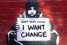 Banksy<3 / by Rian Adams