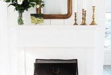 Decor: Fireplaces & Mantels