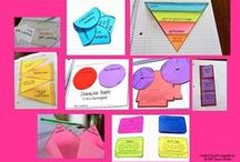 Interactive Notebooks Foldables Lap Books / Interactive notebooks, foldables, flap books, flip books, etc. for the classroom!