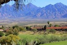 Tucson Golf / Here's the formula for golf in Tucson: World-class courses, friendly people, fresh air, and lots of sunshine. Bottom line, you really can't go wrong: No matter when you're here or where you go, you're always gonna hit the sweet spot!