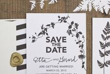 Save the Date / Inspirations for the perfect Save the Date Cards