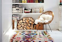 Room to Breathe / I love color. I love reuse. I love unusual things on the walls. I love objects that tell a story. This inspiration board is composed of all things I love in home design. / by Hanna VanOverschelde