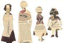 paper dolls / Paper Dolls ( commercial as well as handmade)