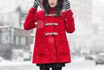 Winter / Coats & scarves.