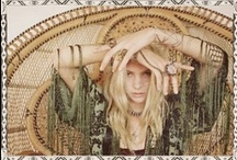 My Style / I love the whole hippy/gypsy/boho look and am all about texture.