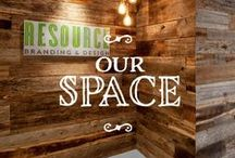 Our Space / by Resource Branding & Design