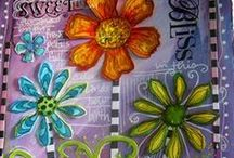 ARTist Luv~ Whimspirations / Art by the totally colorful Joanne Sharpe! / by Kathie Gadd