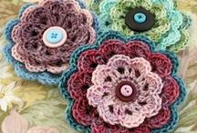 Flowers - knit & crochet / by Britta Storm