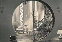 interesting interior