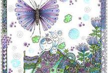 ARTist Luv~ Annsdoodles / by Kathie Gadd