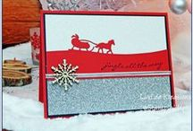 Christmas Cards and Projects! / Christmas cards, snow, winter, santa and more!  Stampin' Up products!
