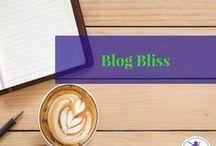 Blog Bliss / blog, blogging, writing, website, blogging for money, affiliate, traffic