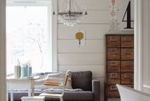 Interior Spaces / Spaces that give life + comfort to a home / by Karisa | Petite Modern Life