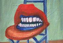 Pop Surrealism / Diego Manuel | Artist Painter Sculptor. Abstract Art Surrealism  Pop  Realism  / by Diego Manuel