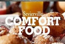 Comfort Food / Find great recipes and foods inspired by Sevierville, its people and the Great Smoky Mountains!