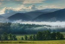 Great Smoky Mountains / The beauty of the Great Smoky Mountains.