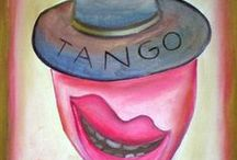 Tango / Diego Manuel | Artist Painter Sculptor. Abstract Art Surrealism  Pop  Realism  / by Diego Manuel