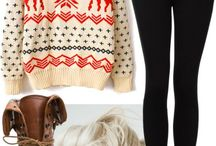 Fall and Winter Wardrobe / by Beth Barbiere