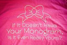 Monograms. aCd / by Allison Crumbley