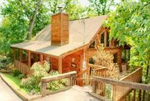 Cabin Hideaways / Beautiful cabins for rent in Sevierville. Book a mountain vacation and get away to it all.