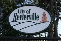 Our Hometown in the Smokies / A board about living in Sevierville, Tennessee.