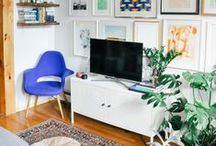 TV/Playroom / by Sarah Vespasian