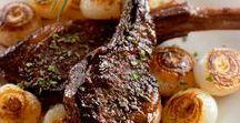 Lamb Entrees / Lamb mutton, roast, chops, shanks, dinner, entree, main, food, recipe