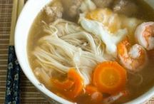 Food | Asian Recipes / Delicious Asian soups, salads, and dinner recipes.