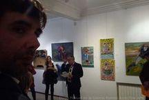 Exposiciones de Diego Manuel / fotos y registros de exposiciones del artista argentino