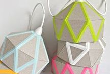 DIY - Paper Crafts and Stationery / Crafting with paper is the opposite of boring! You can make so many different things from cardboard, old paper, colorful paper etc. From home accessories to selfmade stationery and DIY cards.