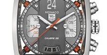 Monaco Mania - My all time favorite watch / I will collect here Tag Heuer Watches. This is my top watch...