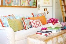 home decor - fun, diy, colorful / Colorful home decor - something for every style.  Fun, DIY, colorful, nautical