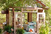 outdoor ideas / items needed for outdoor living