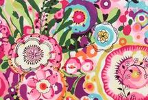 Fabric, embroidery, needle arts colorful inspiration / Colorful fabric and ideas for needle arts. #colorful #fabric #needlearts