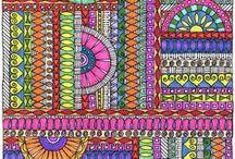 Doodle Art / Doodle art inspiration - fun and colorful