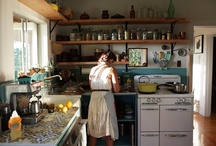happy kitchens / a messy kitchen...is a sign of happiness / by Catherine